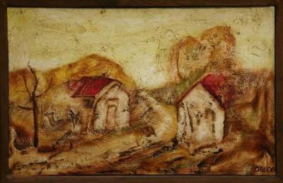 Obrázek Way between the houses - cesta mezi domky